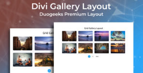Divi Gallery Layout on Divi Cake
