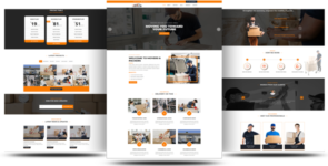 Divi Packers and Movers Theme on Divi Cake