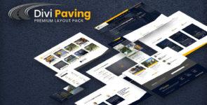 Divi Paving Layout Pack on Divi Cake