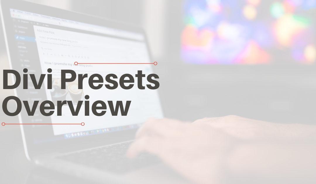 Divi Presets Overview