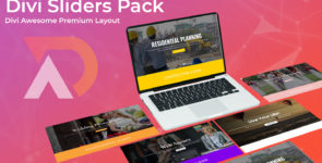 Divi Sliders Layout Pack on Divi Cake