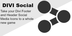 Divi Social – Adding Social Icons to Your Header and Footer on Divi Cake