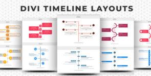 Divi Timeline Layouts Pack on Divi Cake