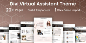 Virtual Assistant Divi Child Theme on Divi Cake