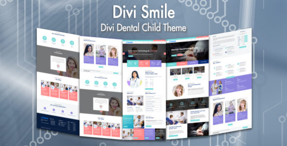 Divi Smile – Divi Dentist Child Theme on Divi Cake