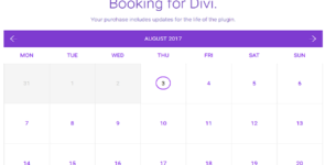 DiviBooked on Divi Cake