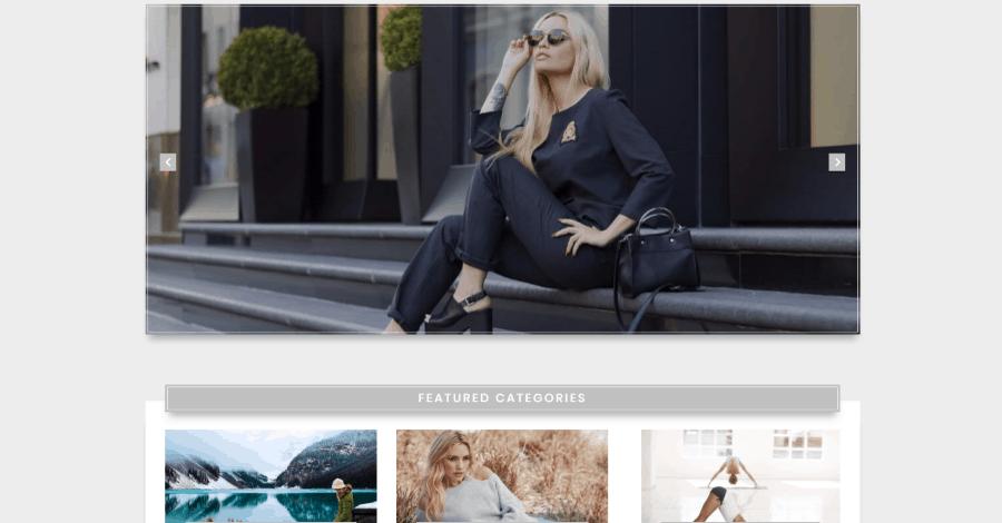 Elegant Divi blog page layout