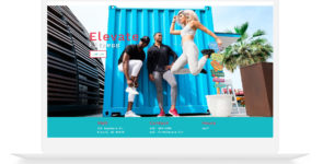 Elevate One Page Layout | Gyms | Fitness Professionals | Crossfit | Personal Trainer on Divi Cake