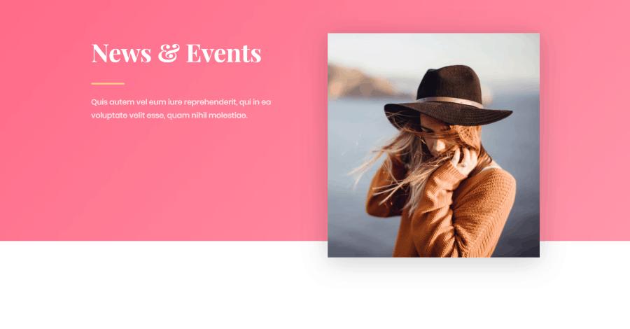 Fashion Divi blog layout