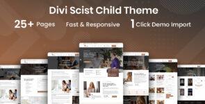 Scist Psychology & Counseling Divi Child Theme on Divi Cake