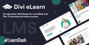 Divi eLearn for LearnDash on Divi Cake