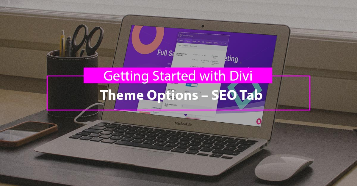 Getting Started with Divi: Theme Options – SEO Tab