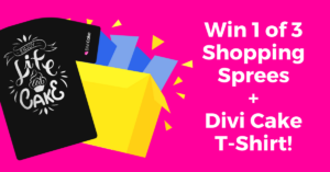 It's our 1st Birthday! Enter to Win our Dream Divi Sweepstakes!