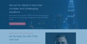 Law Firm Layout Pack on Divi Cake