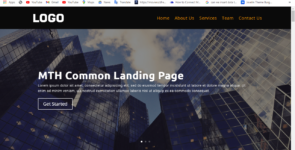 MTH Common Landing Page 02 on Divi Cake