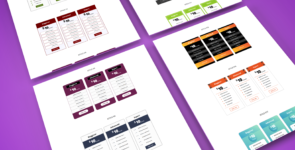 Divi Pricing tables 21 Layouts Pack on Divi Cake