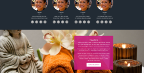 Massage Child Theme on Divi Cake