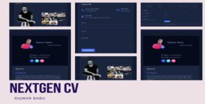 Modern CV on Divi Cake