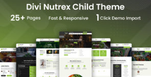 Nutrex – A Health & Nutritionist Child Theme on Divi Cake