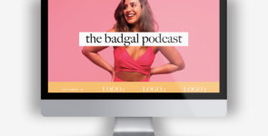 1-page Podcast DIVI Layout on Divi Cake