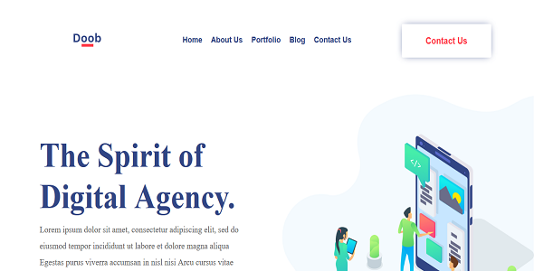 seo Agency Divi Layout on Divi Cake