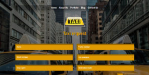 Taxi Layout for divi theme on Divi Cake