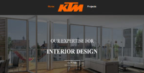 Interior design company Layout Pack on Divi Cake
