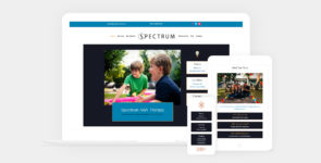 Spectrum Theme | ABA Therapy | Speech & Occupational Therapy | SPED & Autism Providers on Divi Cake