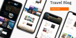 Travel Blog on Divi Cake