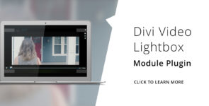 Divi Video Lightbox on Divi Cake