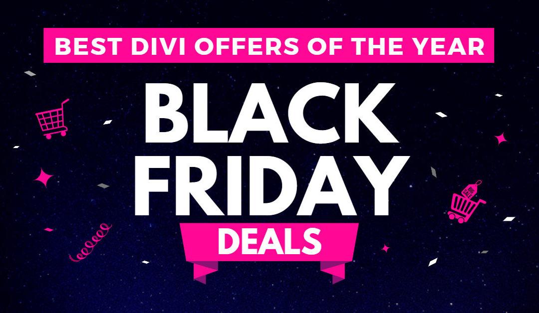 Best Divi Black Friday Deals (2020)