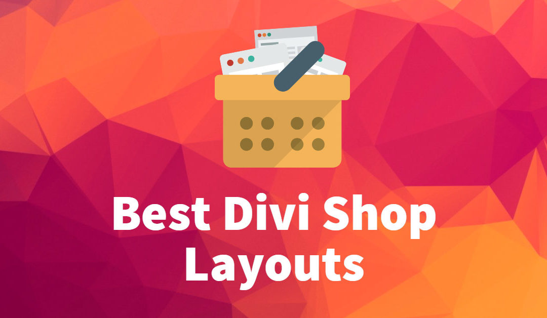 6 Best Divi Shop Layouts