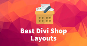6 Best Divi Shop Layouts