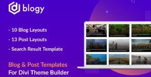 Blogy – Divi Blog and Post Layouts on Divi Cake
