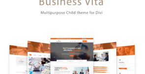 Business Vita on Divi Cake