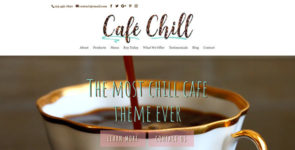 Cafe Chill on Divi Cake