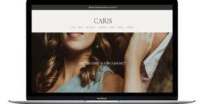 Caris Divi Business Coaching Theme on Divi Cake