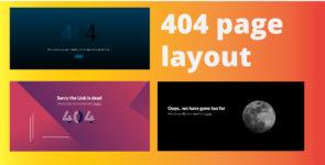 404 Error Layout on Divi Cake