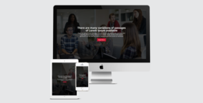 Corporate – Creative Business One Page Layout on Divi Cake