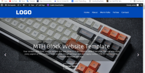 BLOCK LANDING PAGE LAYOUT BY MINI-TOOLS-HUB on Divi Cake