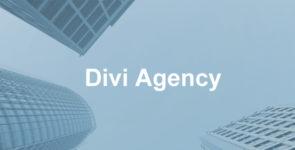 Divi Agency Child Theme on Divi Cake