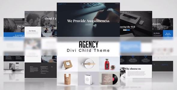 Agency on Divi Cake