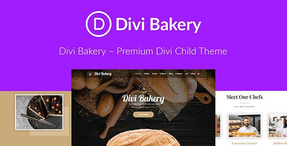 Divi Bakery on Divi Cake