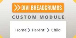 Divi Breadcrumbs Module on Divi Cake