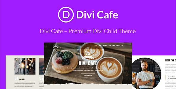 Divi Cafe on Divi Cake