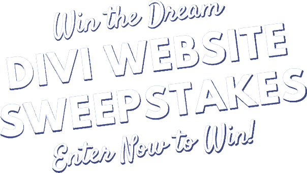 Divi sweepstakes