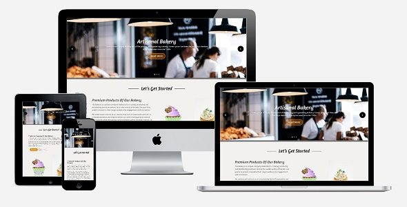 Divi Bakery Page Layout on Divi Cake