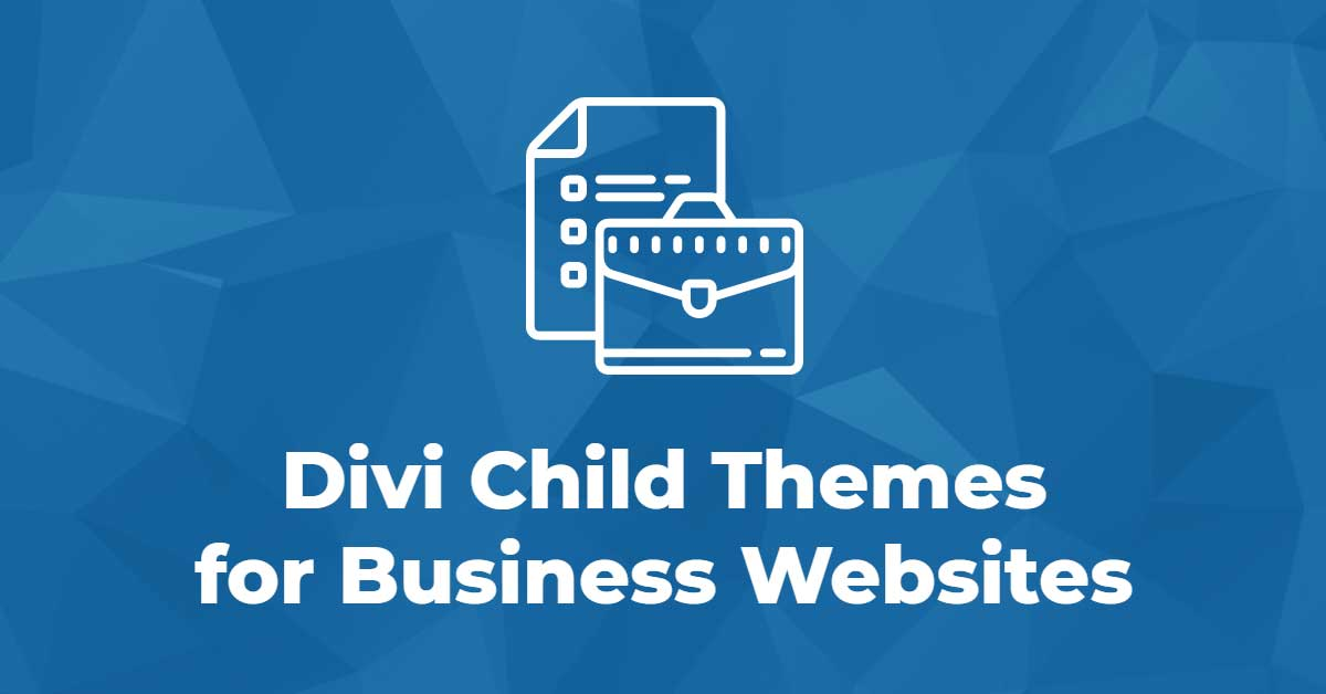 10 Divi Child Themes for Business Websites