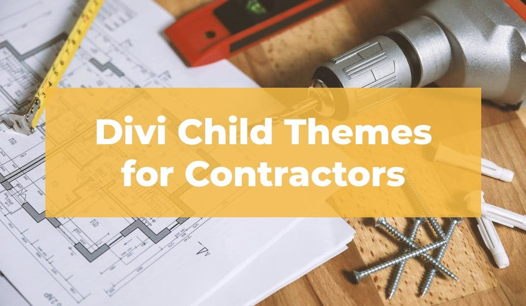 10 Best Divi Child Themes for Construction Companies