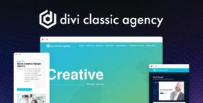 Divi Classic Agency on Divi Cake